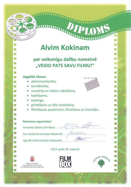 Alvja Mazpulku Diploms Aug-2013