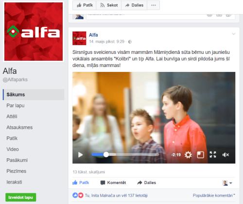 Alfa flashmob