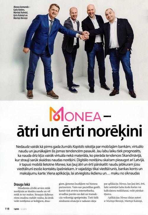 Kapitāls GK Monea 2015-Dec